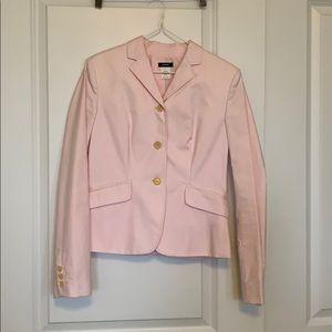 Pink 3 button blazer